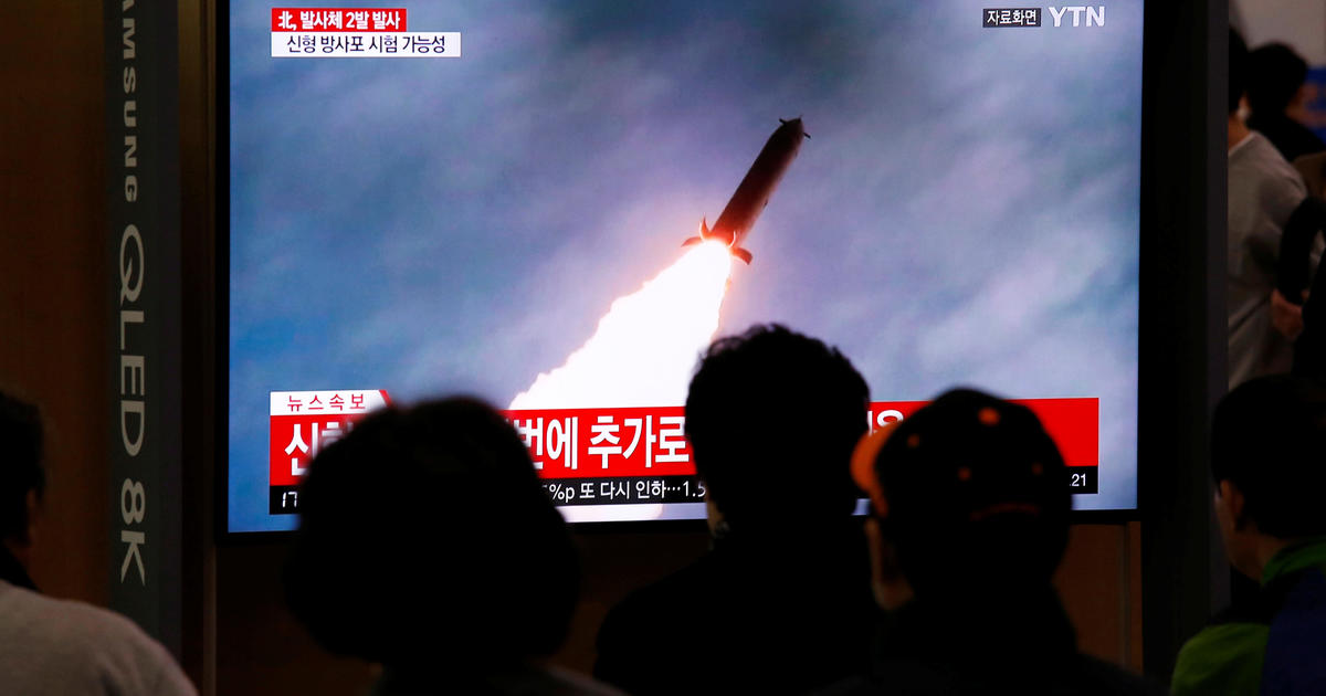 North Korea fires two projectiles into sea