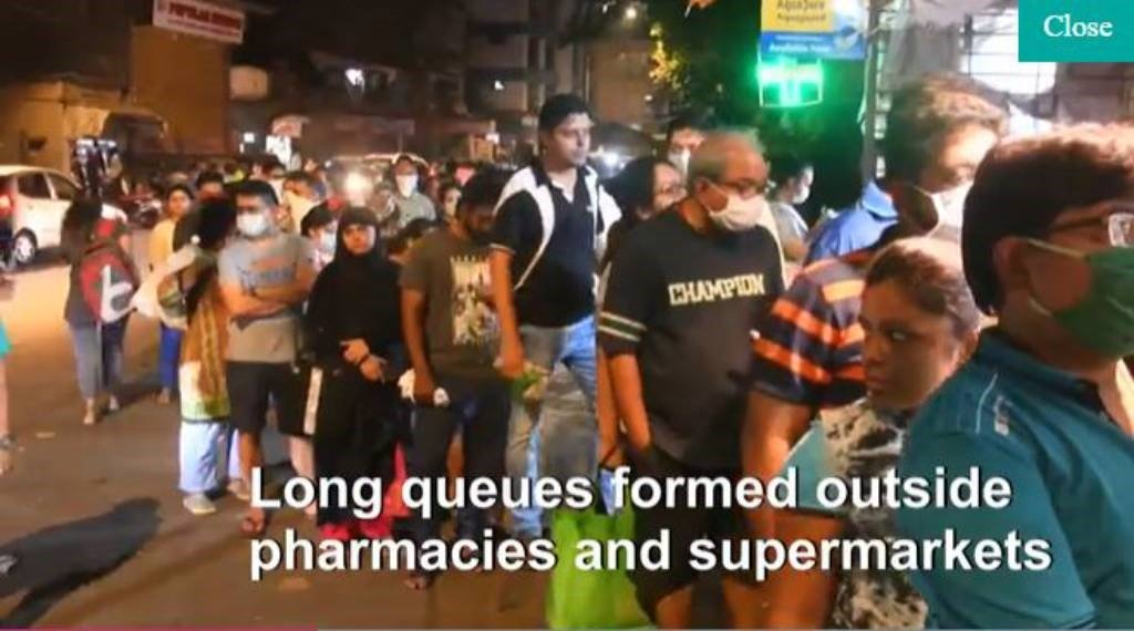 Panic buying in India   Paris health workers: WATCH the top world news videos for today