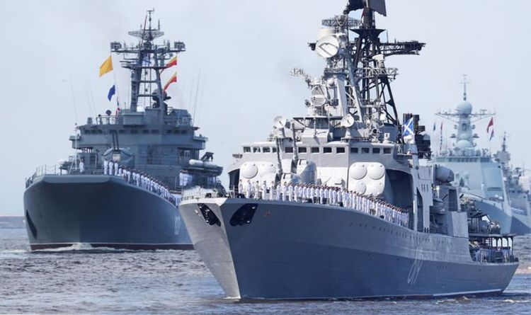 Russia news: Putin moves warships into Channel while UK is 'distracted' by coronavirus | World | News