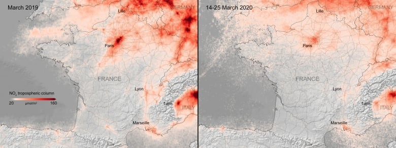 Satellite data shows air pollution drop in Europe amid COVID-19 lockdowns