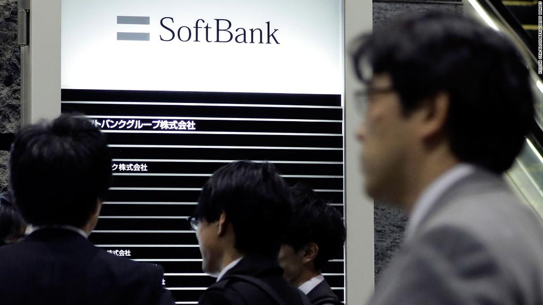 SoftBank stock has best day in 12 years after unveiling huge buyback plan