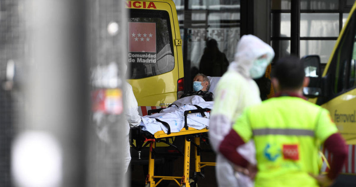 Spanish army finds dead, abandoned patients at senior care facilities