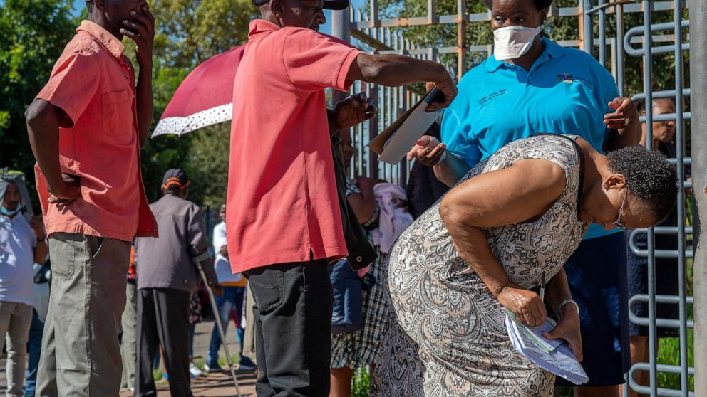 'Terrified' South Africa nears lockdown; cases almost 1,000
