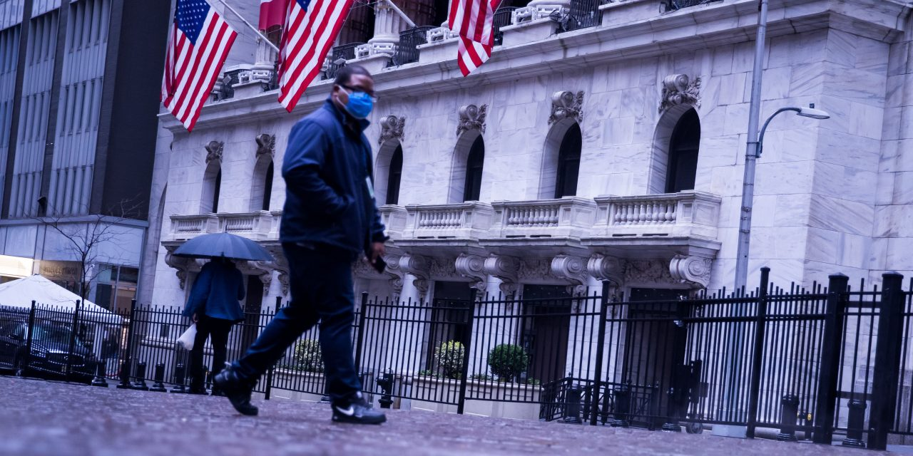 The Dow is set to open flat following 11% surge
