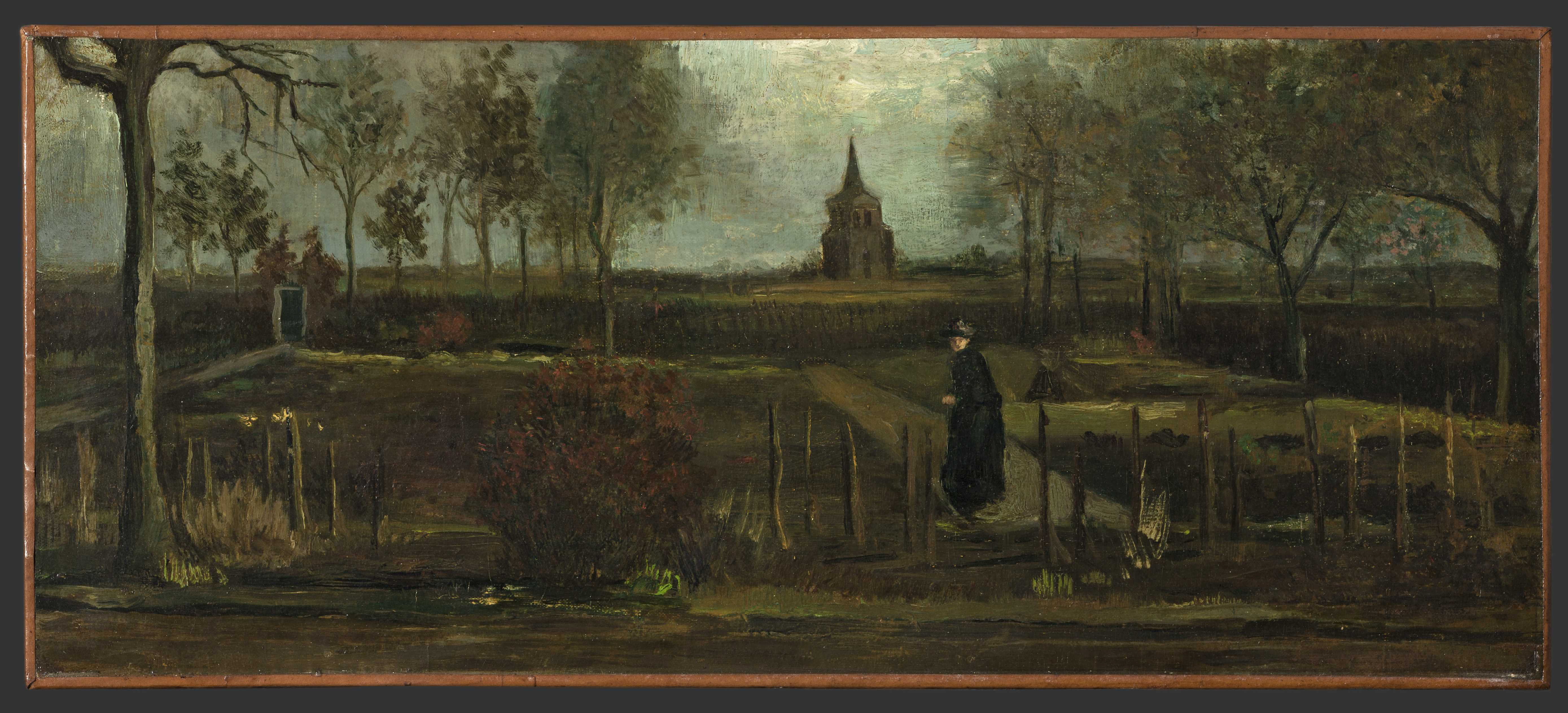 Vincent van Gogh's Spring Garden was stolen from a Netherlands museum closed due to the coronavirus pandemic