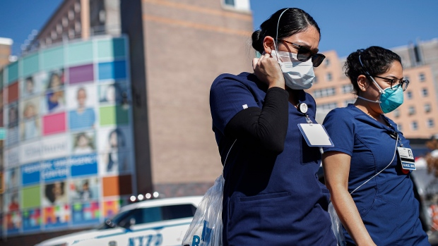 U.S. eyes new outbreaks as infections worldwide top 590,000