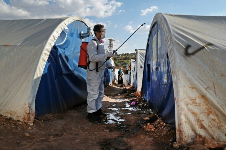 UN calls for Syria ceasefire to tackle virus threat