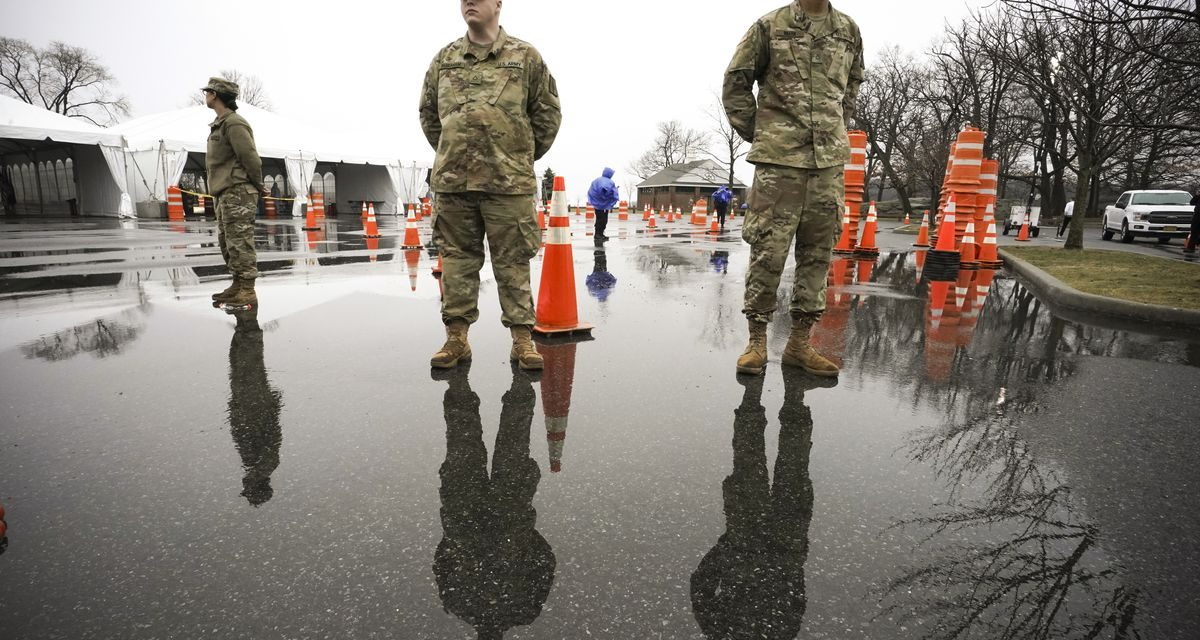 What National Guard troops do when deployed to help with coronavirus