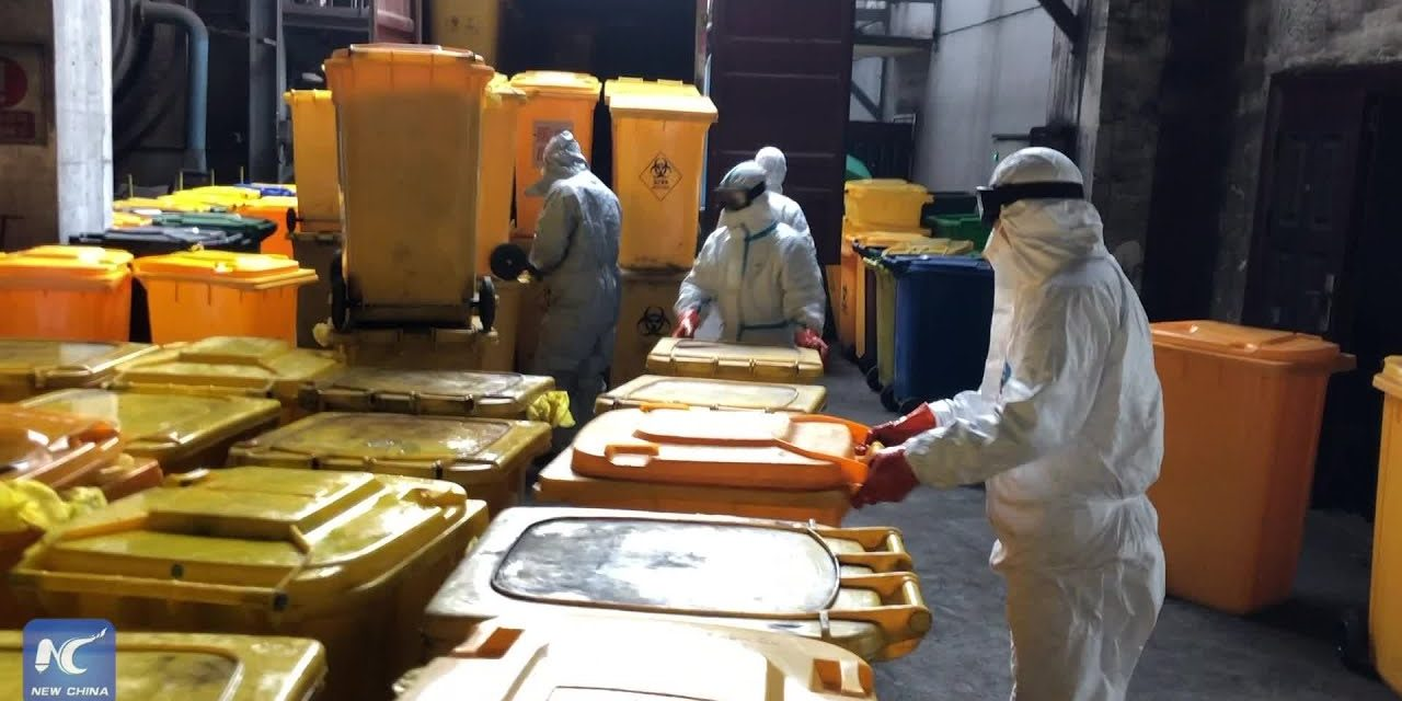 Wuhan Today: Processing COVID-19 medical waste