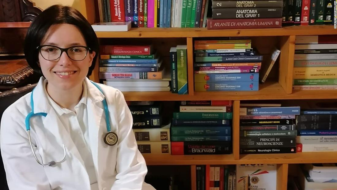 Young Italian doctors are being fast-tracked to the Covid-19 frontline